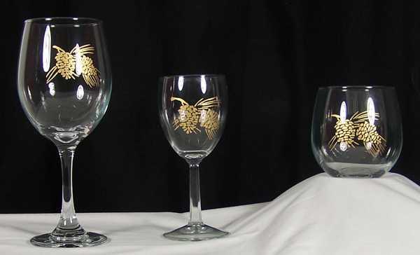 Commemorative Wine Glass Printing